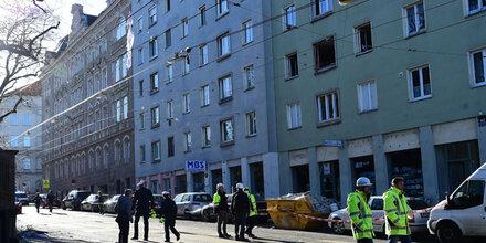 Gas-Explosion mitten in Wien: Ein Schwerverletzter
