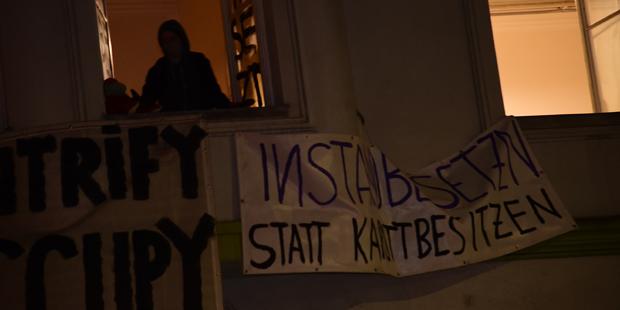 Anarcho Haus Ottakring besetzt