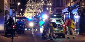 Terror in Straßburg: Täter auf der Flucht