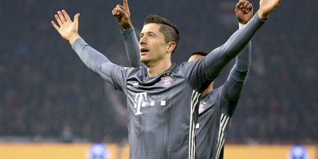 Bayern holt sich nach Thriller gegen Ajax Gruppensieg