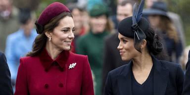 Meghan beschwert sich über Kate