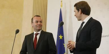 EVP-Spitzenkandidat stärkt Kurz bei Digitalsteuer den Rücken