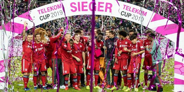 Bayern sichern sich ersten Titel 2019