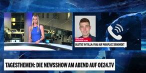 Mord in Tulln: Polizeisprecher Holub im Interview