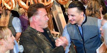 """Für den neuen Hit """"Pump It Up"""": Arnie rockt im Duett mit Gabalier"""