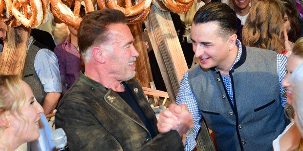 Arnie rockt im Duett mit Gabalier