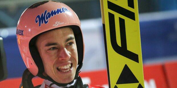 Stefan Kraft verpasst Sieg gegen Kamil Stoch