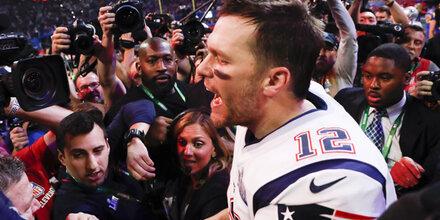 Brady schrieb mit diesem Sieg Geschichte