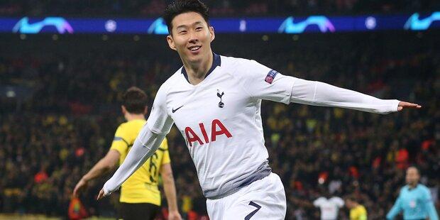 Tottenham schießt Dortmund mit 3:0 ab
