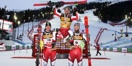 Gold, Silber & Bronze! Wir sind Ski-Kaiser
