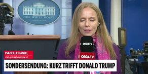 Kurz & Trump: So lief das Treffen