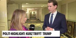 Das sagt Kurz über sein Gespräch mit Trump