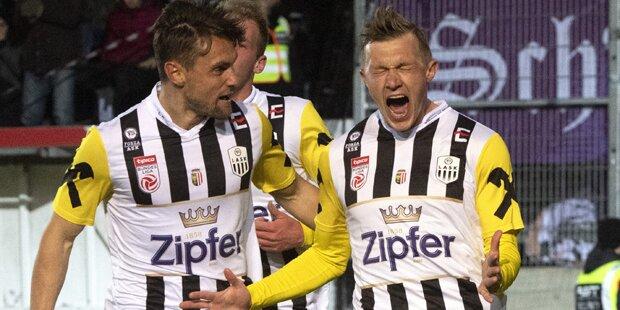 LASK feiert 2:0-Sieg gegen Austria