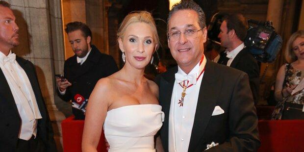 Straches eigene Opernball-Loge kostete 25.000 Euro