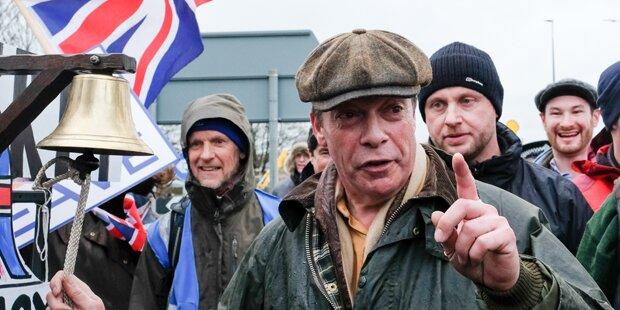 Bastelt Farage an nächster Brexit-Sabotage?