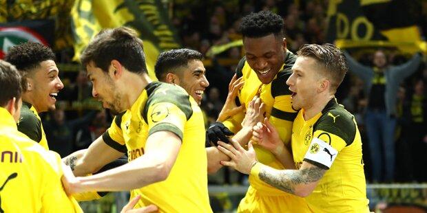 Reus rettet BVB mit Siegtreffer in letzter Minute