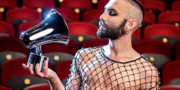 Conchita vor Amadeus-Show: 'Bin jetzt größer als das Leben'