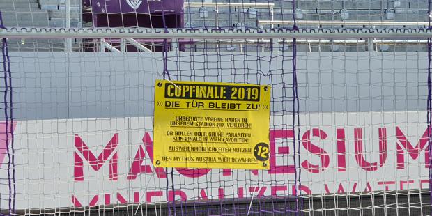 Austria Cup Tür zu