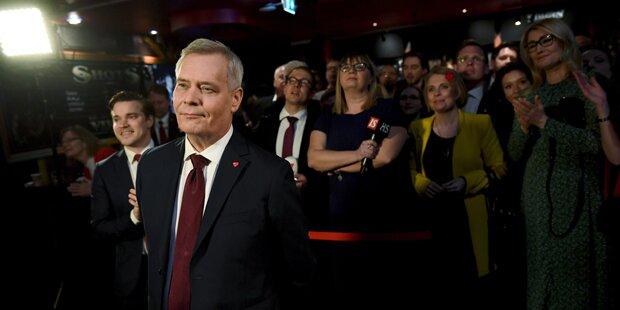 Sozialdemokraten führen bei Parlamentswahl in Finnland