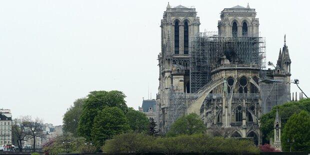Trümmer der Notre-Dame mit hochgiftigem Blei überzogen