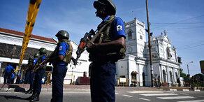 Sri Lanka: Zahl der Toten auf fast 360 gestiegen