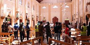 Anschläge in Sri Lanka: Mehr als 300 Tote