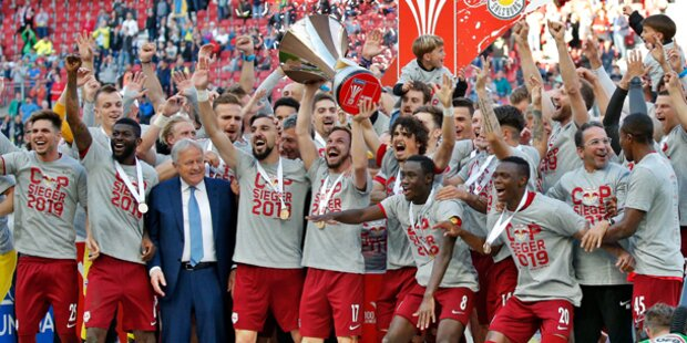 Salzburg holt Cup gegen Rapid