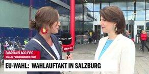 Wahlauftakt in Salzburg mit Karoline Edtstadler