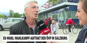 Wahlkampfauftakt der ÖVP in Salzburg