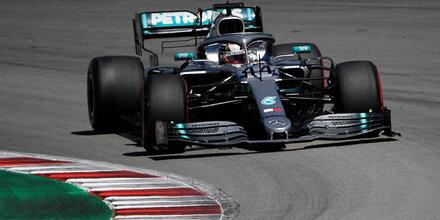 Mercedes einfach unschlagbar: Vettel Vierter