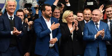 Le Pen Salvini Wilders