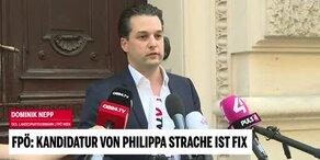 Nepp bestätigt FP-Kandidatur von Philippa Strache
