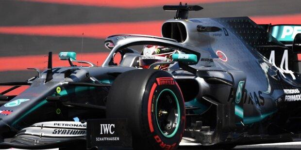 Hamilton gewinnt am Circuit Paul Ricard