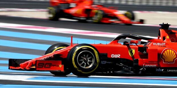 'Offener Krieg' bei Vettel & Leclerc