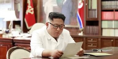 Kim freut sich über Post von Trump