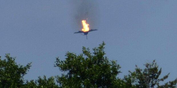 Zwei Eurofighter abgestürzt: Ein Toter, ein Verletzter