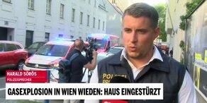 Polizeisprecher Sörös über die Gasexplosion
