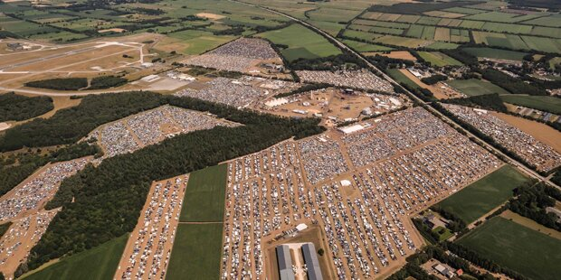 Festival-Besucherin tot in Zelt gefunden