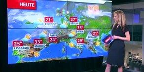 Die heutige Wetter-Prognose
