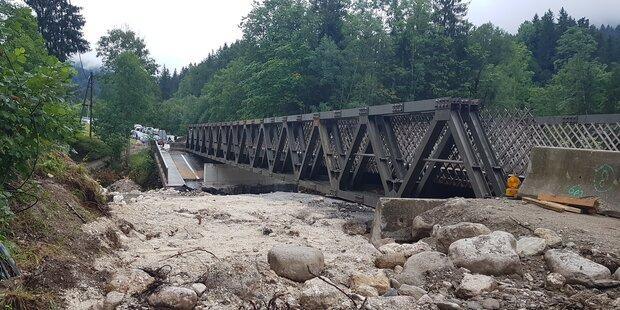 Behelfsbrücke bis Jänner