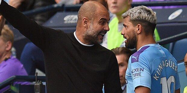 Guardiola: Krach mit Aguero an der Seitenlinie