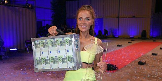 Janine Pink gewinnt