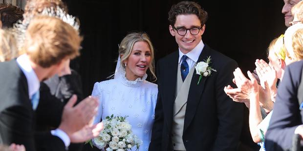 Ellie Goulding: Traumhochzeit mit ihrem Caspar