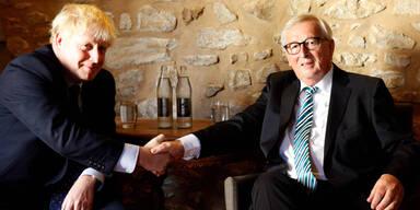 Boris Johnson Juncker