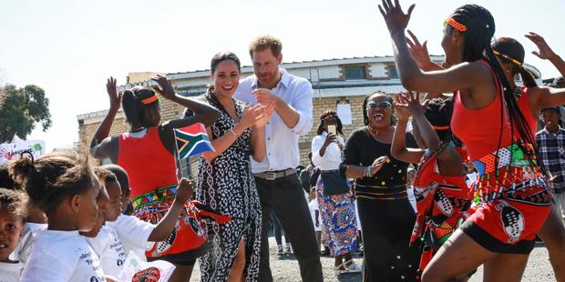 Meghan & Harry: Start für Afrika-Tour