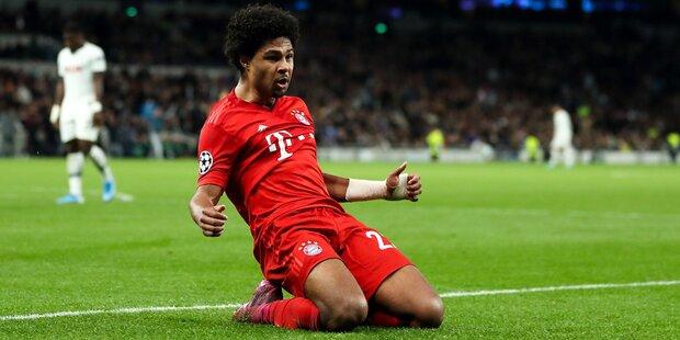 Bayern zerlegen Tottenham 7:2