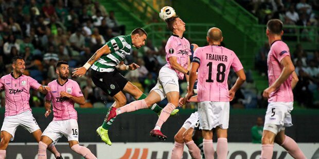 LASK verliert nach Führung gegen Sporting