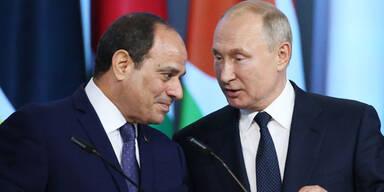 Putin al-Sisi