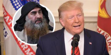 al-Baghdadi Trump
