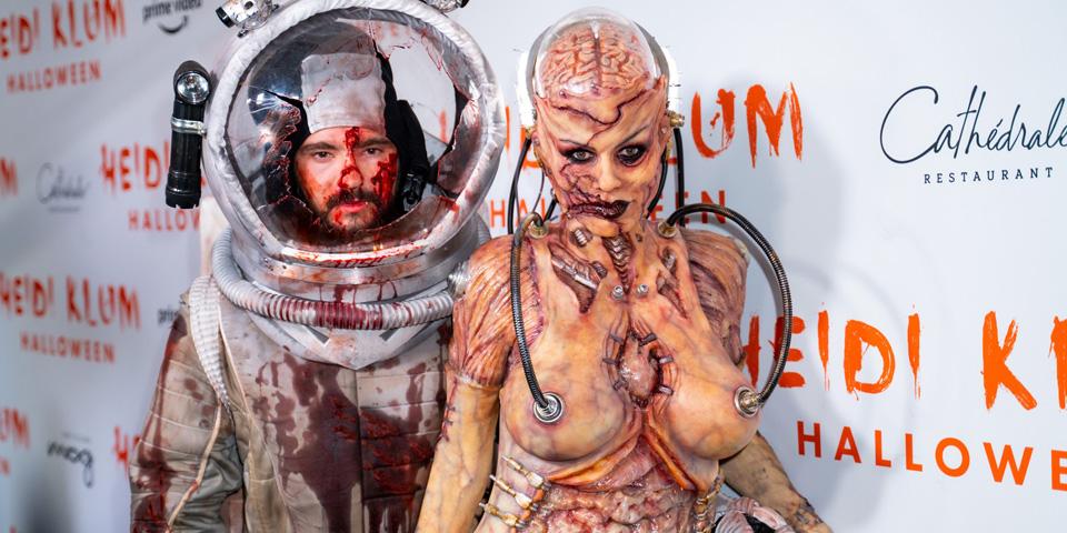 Klum Kaulitz Halloween